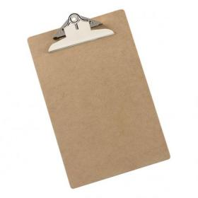 5 Star Office Clipboard Rigid Hardboard Foolscap