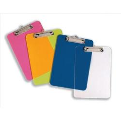 Cheap Stationery Supply of 5 Star Office Clipboard Solid Plastic Durable with Rounded Corners A4 Clear Office Statationery