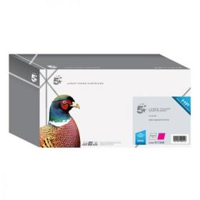 5 Star Office Remanufactured Laser Toner Cartridge Page Life 12000pp Magenta HP 645A C9733A Alternative