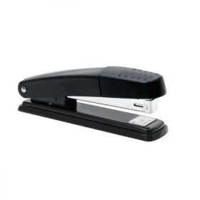 5 Star Office Stapler Full Strip Metal Top and Base Top Loading Capacity 20 Sheets Black