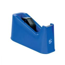 Cheap Stationery Supply of 5 Star Office Tape Dispenser Desktop Weighted Non-slip Roll Capacity 25mm Width 75m Length Max Blue Office Statationery