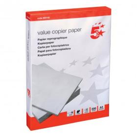 5 Star Value Copier Paper Multifunctional Ream-Wrapped 75gsm A3 White 500 Sheets