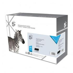 5 Star Office Remanufactured Laser Toner Cartridge HY Page Life 2500pp Black HP 49A Q5949A Alternative