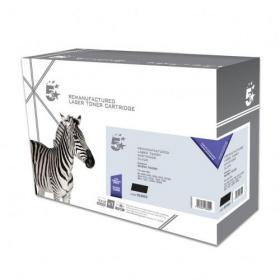 5 Star Office Remanufactured Laser Toner Cartridge Page Life 2500pp Black Brother TN2000 Alternative