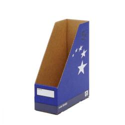 Cheap Stationery Supply of 5 Star Elite Magazine File Quick-assemble A4 Plus Blue Pack of 10 Office Statationery