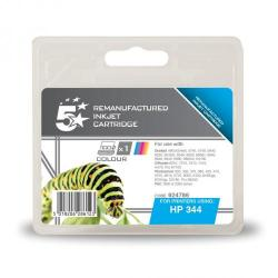 Cheap Stationery Supply of 5 Star Office Remanufactured Inkjet Cart Page Life 560pp 14ml Tri-Colour HP No.344 C9363EE Alternative Office Statationery