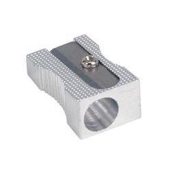 Cheap Stationery Supply of 5 Star Office Pencil Sharpener Pocket-sized Metal Max. Diameter 8mm Single Hole Pack of 5 924863 Office Statationery
