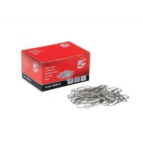 5 Star Office Paperclips Metal Small Length 22mm Plain Pack of 10x200