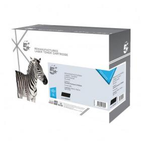 5 Star Office Remanufactured Laser Toner Cartridge Page Life 3000pp Black HP 53A Q7553A Alternative