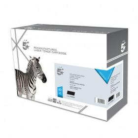 5 Star Office Remanufactured Laser Toner Cartridge 6000pp Black HP 501A Q6470A Alternative