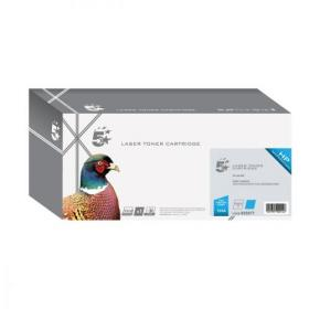 5 Star Office Remanufactured Laser Toner Cartridge Page Life 2000pp Cyan HP 124A Q6001A Alternative