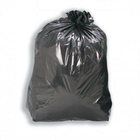 5 Star Facilities Compactor Bin Liners Extra HeavyDuty 110Litre Capacity W430/770xH950mm Black Pack of 200