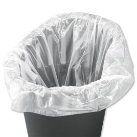 5 Star Facilities Swing Bin Liners Light Duty 40 Litre Capacity W310/505xH710mm White Pack of 1000