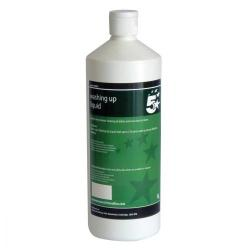 Cheap Stationery Supply of 5 Star Facilities Washing-up Liquid 1 Litre Office Statationery
