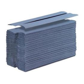 5 Star Facilities Hand Towel C-Fold One-ply Recycled 220x305mm 192 Towels Per Sleeve Blue Pack of 15