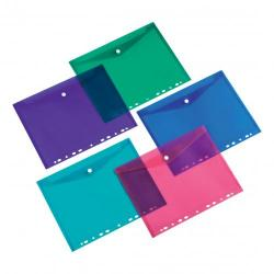 Cheap Stationery Supply of 5 Star Office Ring Binder Punched Pocket A4 Assorted Pack of 5 Office Statationery
