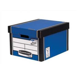 Cheap Stationery Supply of Bankers Box by Fellowes Premium 725 (A4/Foolscap) Classic Storage Box - 1 x Pack of 10 Storage Boxes 7250601XX-2 Office Statationery