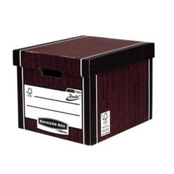 Cheap Stationery Supply of Bankers Box by Fellowes Premium (A4/Foolscap) Stackable Storage Box with Lift off Locking Lid (1 x Pack of 10 Storage Boxes) 7260501XX-2 Office Statationery
