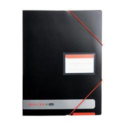 Cheap Stationery Supply of Black n Red by Elba (A4) Polypropylene Covered Display Book (Opaque) Pack of 3 - Offer FREE (A5) Notebook (Jan - Dec 2016) 400050725-XX Office Statationery
