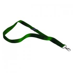 Announce Textile Badge Necklace Green (Pack of 10) AA03631