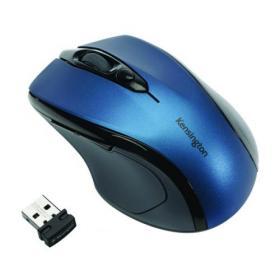 Kensington Pro Fit Mid-Size USB Blue Wireless Mouse K72421WW