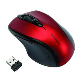Kensington Pro Fit Mid-Size USB Wireless Mouse Red K72422WW