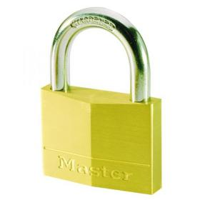Master Lock Magnum Padlock 30mm Solid Brass with Keys 40043