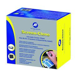 Cheap Stationery Supply of AF Screen-Clene Duo Wet/Dry Wipes (Pack of 20) ASCR020 Office Statationery