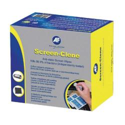 Cheap Stationery Supply of AF Screen-Clene Anti-Static Screen Wipes (Pack of 100) ASCS100 Office Statationery