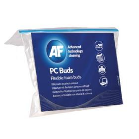 AF Flexible Foam Buds for PC Cleaning 130mm (Pack of 25) APCB025