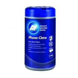 Cheap Stationery Supply of AF Phone-Clene Telephone Wipes Tub (Pack of 100) APHC100T Office Statationery