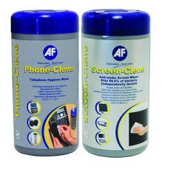Cheap Stationery Supply of AF Phone-Clene/Screen-Clene Wipes Tub Bundle APHCSCR100T Office Statationery