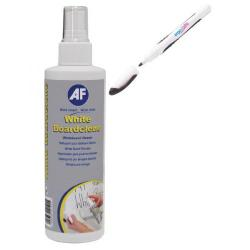 Cheap Stationery Supply of AF White Boardclene 250ml with FOC Pk4 Ergo-Brite Drywipe Markers Black AFI838854 Office Statationery