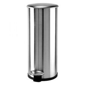 Addis Stainless Steel Soft Close Pedal Bin 30 Litre 518017