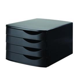Jalema 4 Drawer Desktop Set Black 2686374299