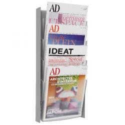 Cheap Stationery Supply of Alba Wall Display Unit 4 Pocket A4 Metallic DDPROGMM Office Statationery
