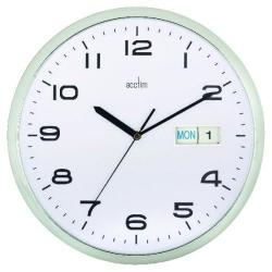 Cheap Stationery Supply of Acctim Supervisor Wall Clock 320mm Chrome/White 21027 Office Statationery