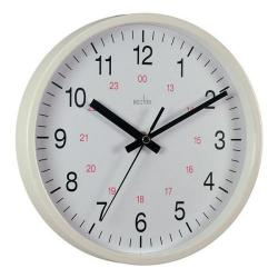 Cheap Stationery Supply of Acctim Metro 25.5cm Wall Clock White 21152 Office Statationery