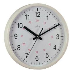 Cheap Stationery Supply of Acctim Metro 24 Hour Plastic Wall Clock 355mm White 21202 Office Statationery