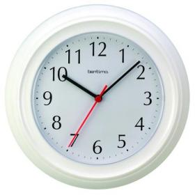 Acctim Wycombe Wall Clock White 21412