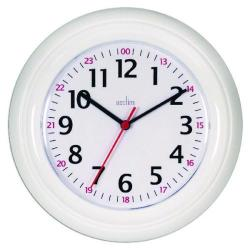 Cheap Stationery Supply of Acctim Wexham 24 Hour Plastic Wall Clock White 21862 Office Statationery