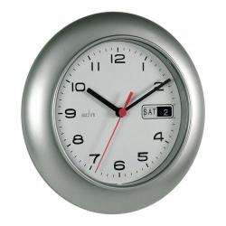 Cheap Stationery Supply of Acctim Dateminder 25.0cm Wall Clock Silver 93/702S Office Statationery