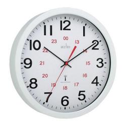 Cheap Stationery Supply of Acctim Controller Radio Controlled 30cm Wall Clock White 74172 Office Statationery