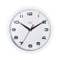 Cheap Stationery Supply of Acctim Aylesbury Wall Clock White 92/301 Office Statationery