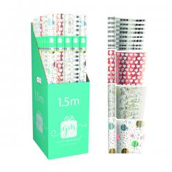 Cheap Stationery Supply of Giftmaker Celebration Mix Gift Wrap (Pack of 42) Y8GM123K Office Statationery