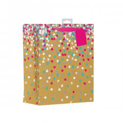 Cheap Stationery Supply of Giftmaker Confetti Gift Bag Large (Pack of 6) FCOL Office Statationery
