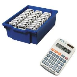 Cheap Stationery Supply of Aurora HC133 Pocket Calculator White (Pack of 30) CK30 Office Statationery
