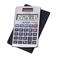 Cheap Stationery Supply of Aurora Hc208tx Handheld Calculator Office Statationery