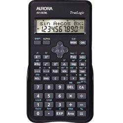 Cheap Stationery Supply of Aurora Black 2-Line Scientific Calculator (2 line display shows both sum and answer) AX582BL Office Statationery