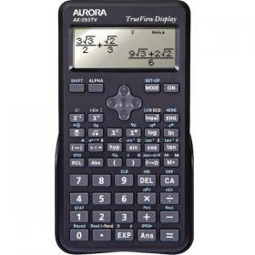 Aurora AX-595TV Scientific Calculator Black AX595TV